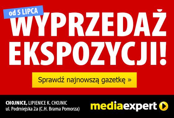 Wyprzedaż ekspozycji w Media Expert!