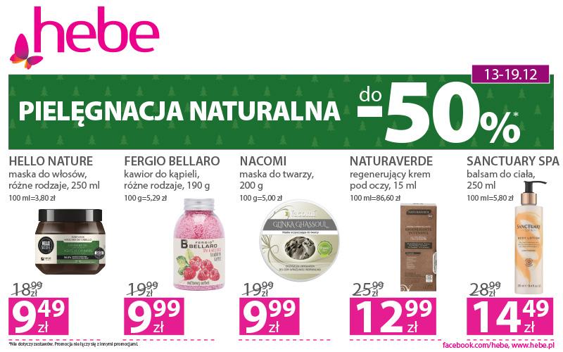 PIELĘGNACJA NATURALNA do -50%