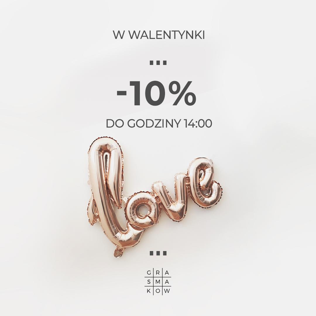 -10% w Walentynki z GRĄ SMAKÓW