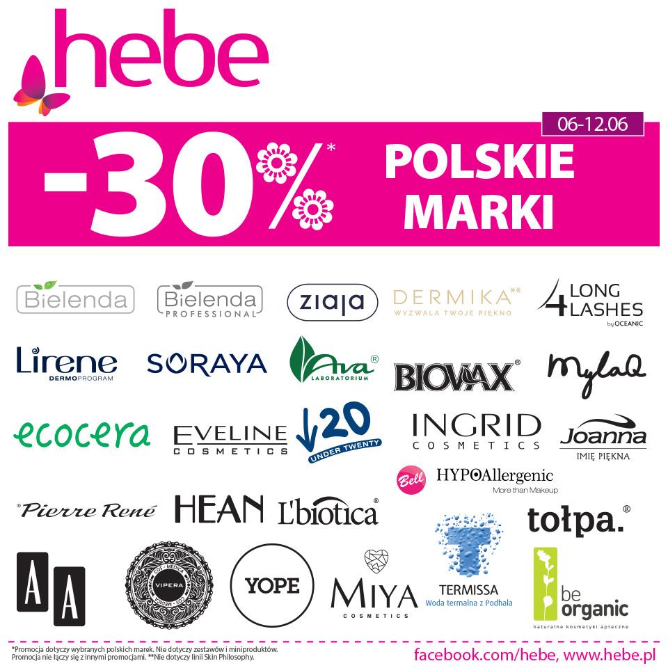 POLSKIE MARKI -30% *