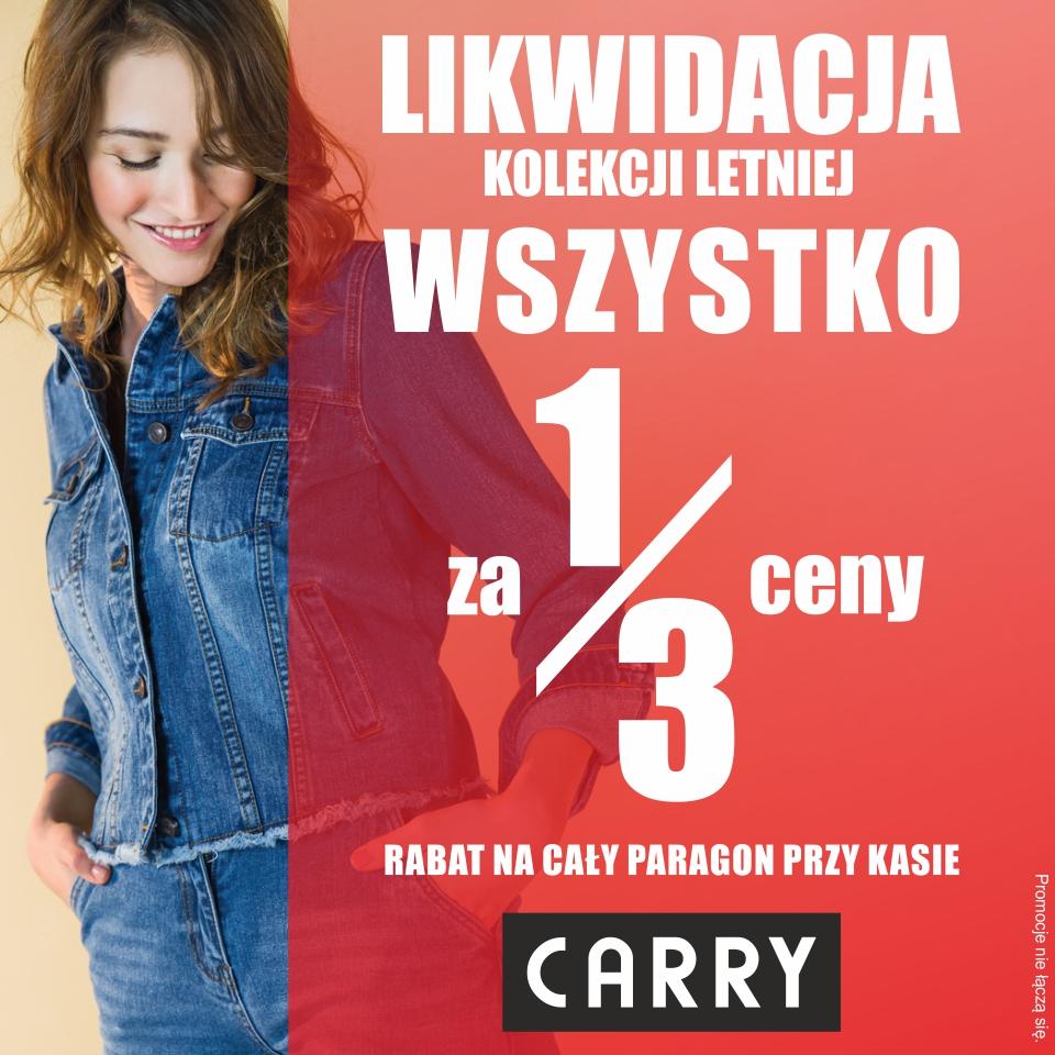 CARRY – WSZYSTKO za 1/3 ceny!
