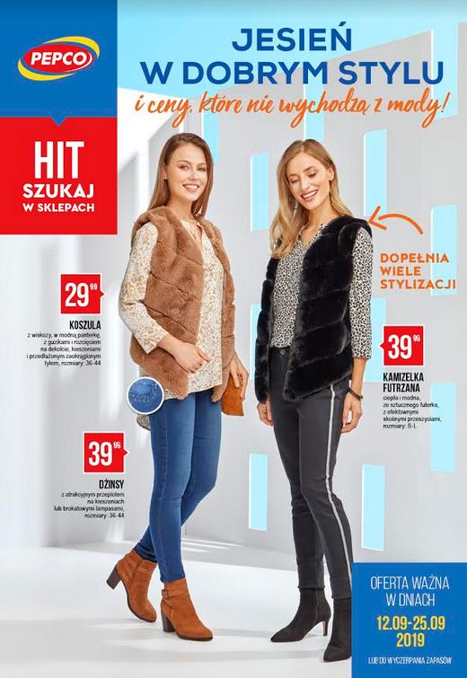 Nowa gazetka Pepco12.09-25.09.2019