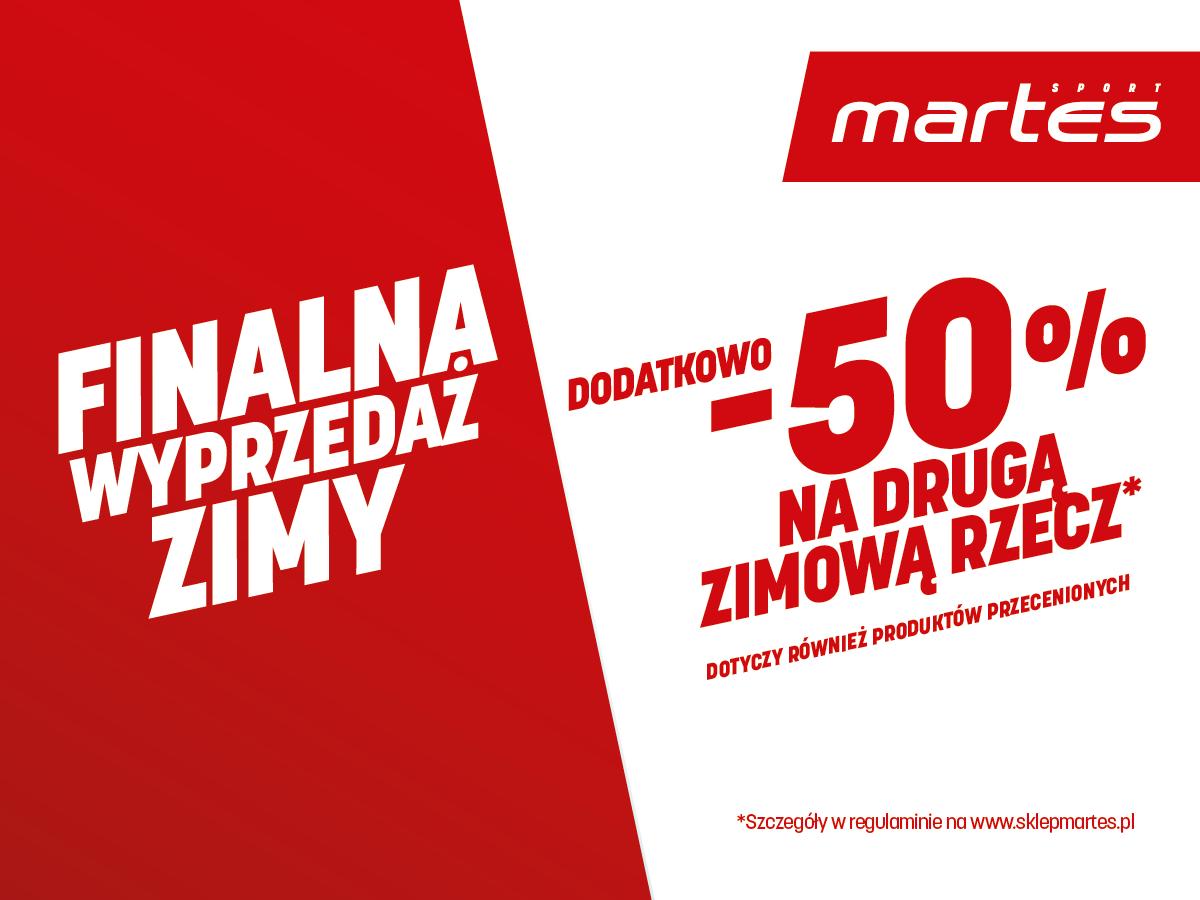 Wyprzedaż zimy w @Martes Sport!