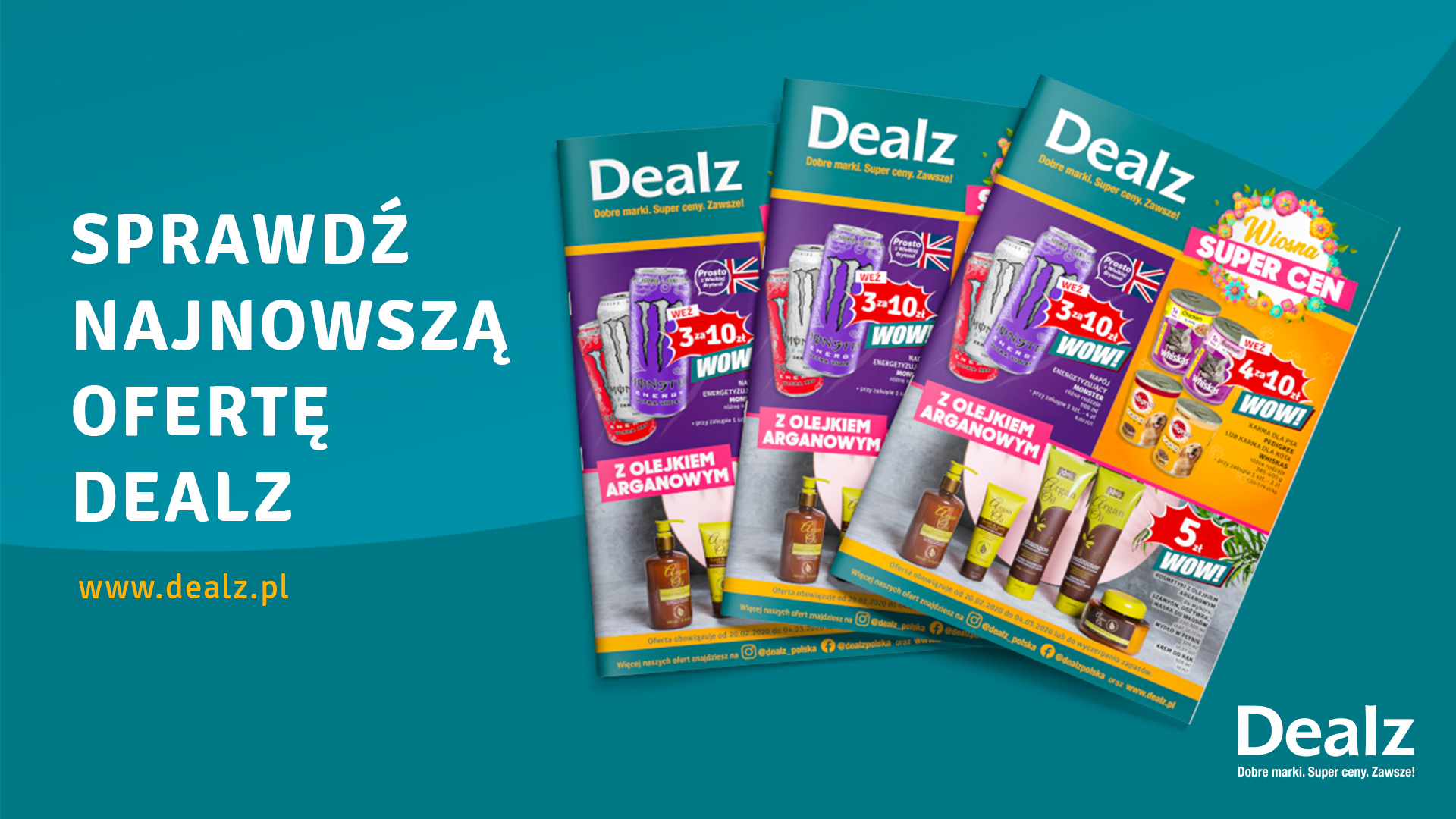 Wiosna super cen w Dealz!
